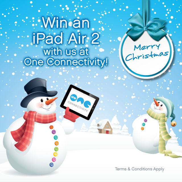 One Connectivity Win iPad Air 2