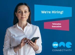 We're hiring - telesales executive