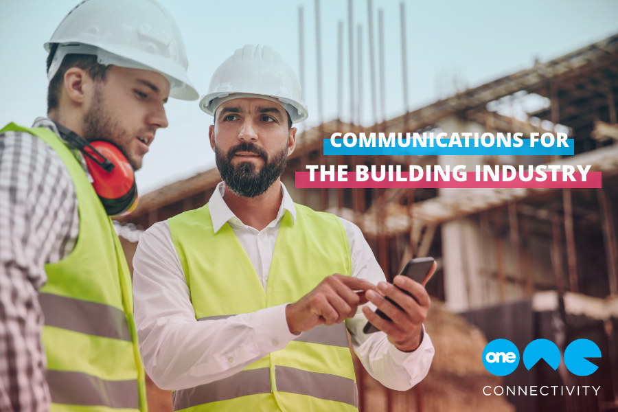 Communications for the building industry blog