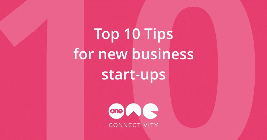 Start up tips